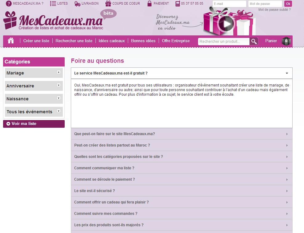 Paiement sécurisé, FAQ, CGV, Livraison